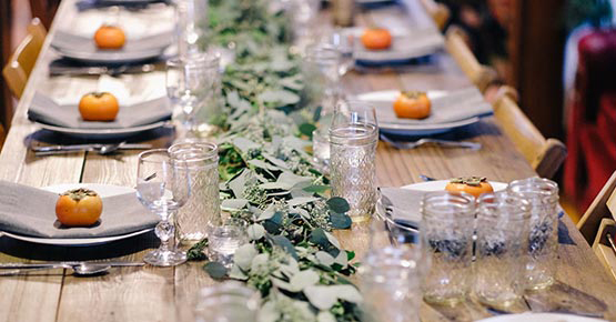 Wedding packages from $149/person.